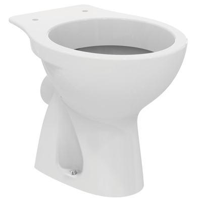 Стояща тоалетна чиния Бял