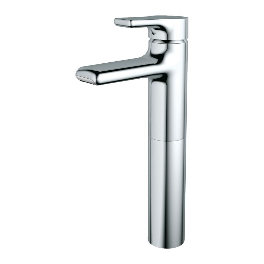 Tall Basin Mixer with Waterfall Outlet (Without Waste)