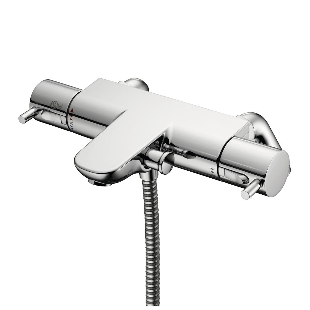 Thermostatic Bath Shower Taps Product Details A5638 Thermostatic Two Hole Bath Shower