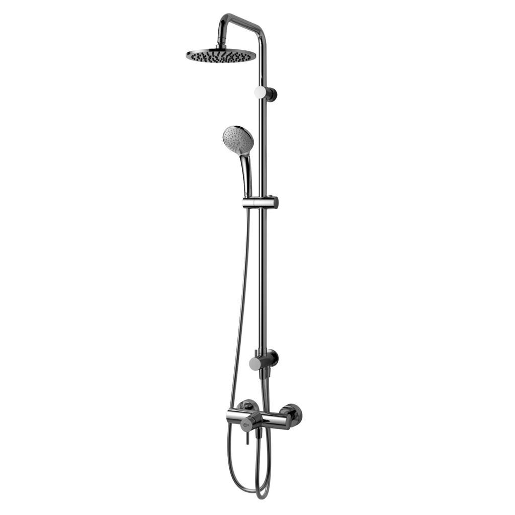 Colonna doccia con monocomando