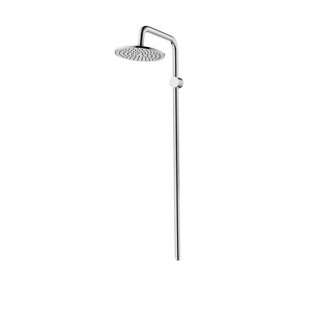 Fixed Exposed Riser and Rainshower M1