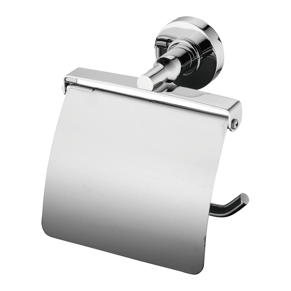 iom toilet roll holder with cover