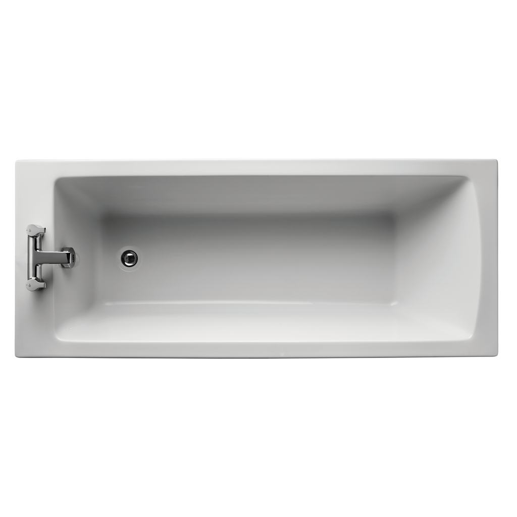 Arc 170x70cm Rectangular Water Saving Bath