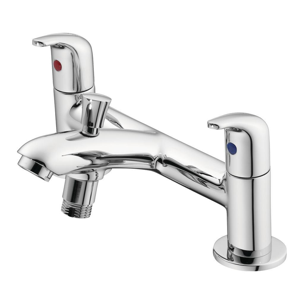 2 Hole Bath Shower Mixer