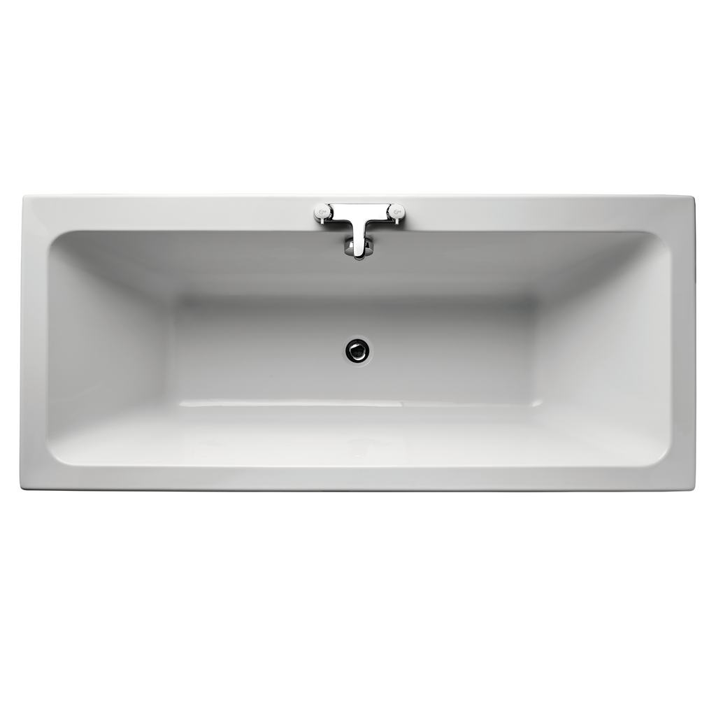 Cube 170x75cm Double Ended Bath