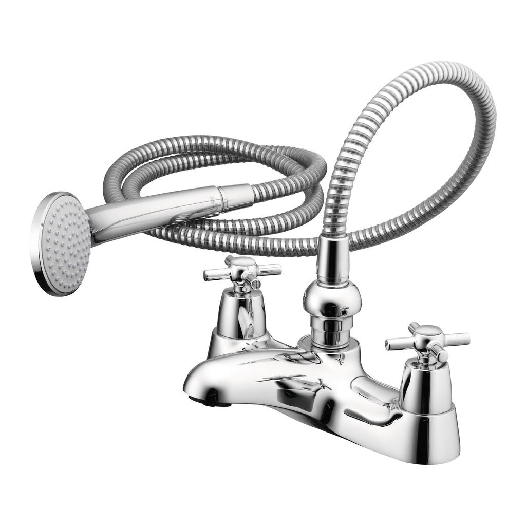 Two Hole Bath Shower Mixer with Shower Set
