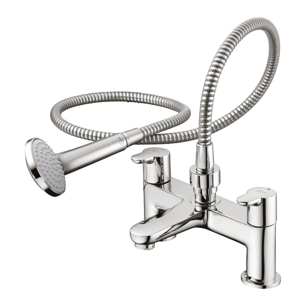 details b9930 bath shower mixer with shower set ideal standard