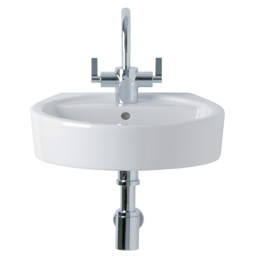 Wash Basin Front Elevation Autocad : Product details e cm washbasin taphole ideal