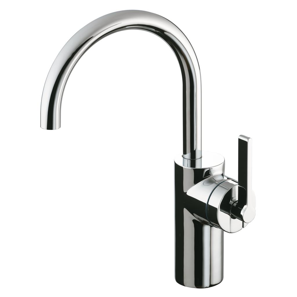 Single Lever Tall Basin Mixer (Without Waste)