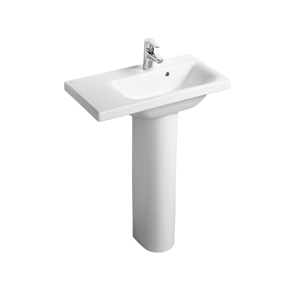 70cm Furniture or Pedestal Basin, Left hand