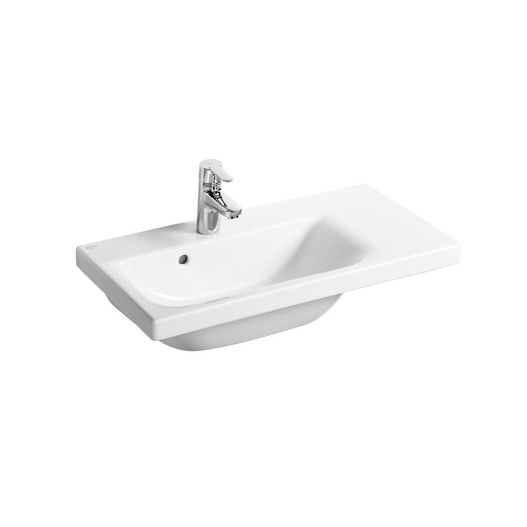 Pedestal Hand Basin : ... E1342 70cm Furniture or Pedestal Basin, Right hand Ideal Standard