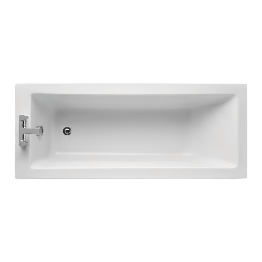 Cube 170x70cm Rectangular Water Saving Bath