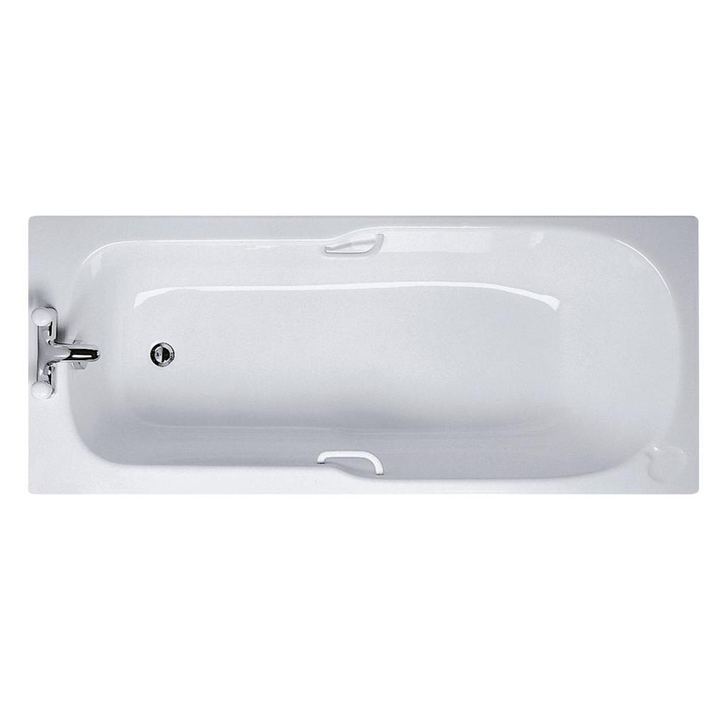 Product details: E4102 | 170x70cm Rectangular Bath, 2 tapholes ...