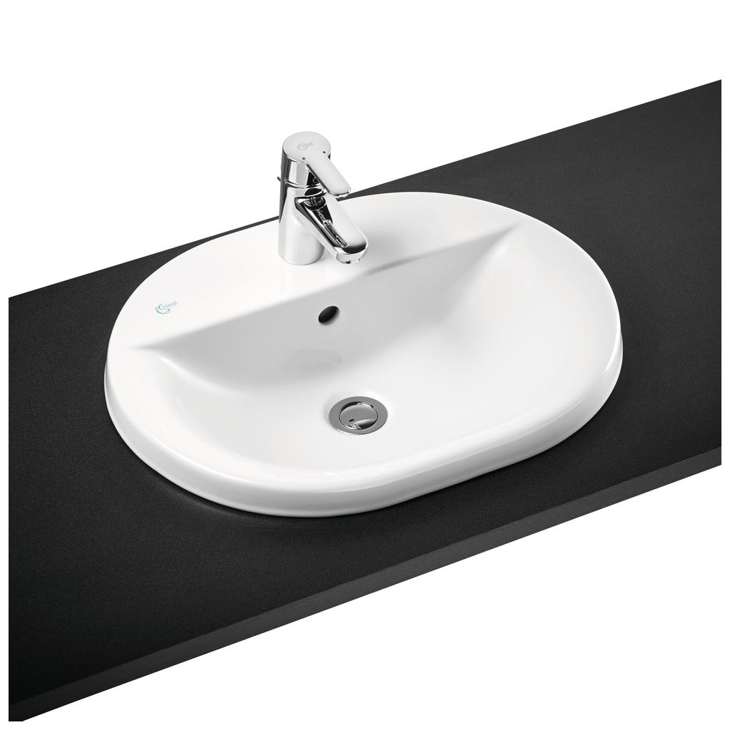 55cm Countertop Washbasin, 1 taphole