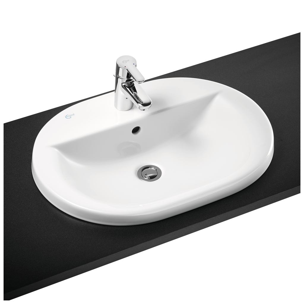 62cm Countertop Washbasin, 1 taphole