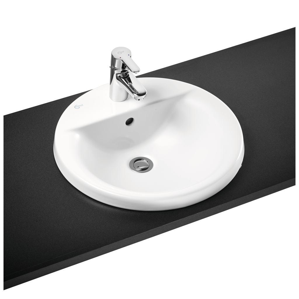 48cm countertop basin 1 taphole