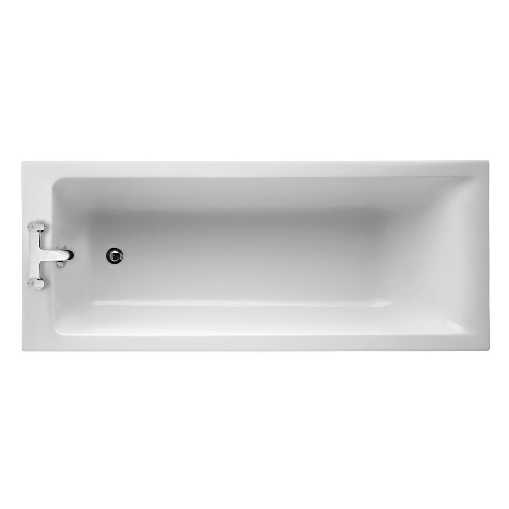 170x70cm Rectangular Bath, no tapholes