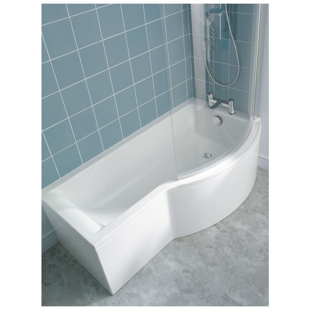 product details e7407 shower bath screen ideal standard