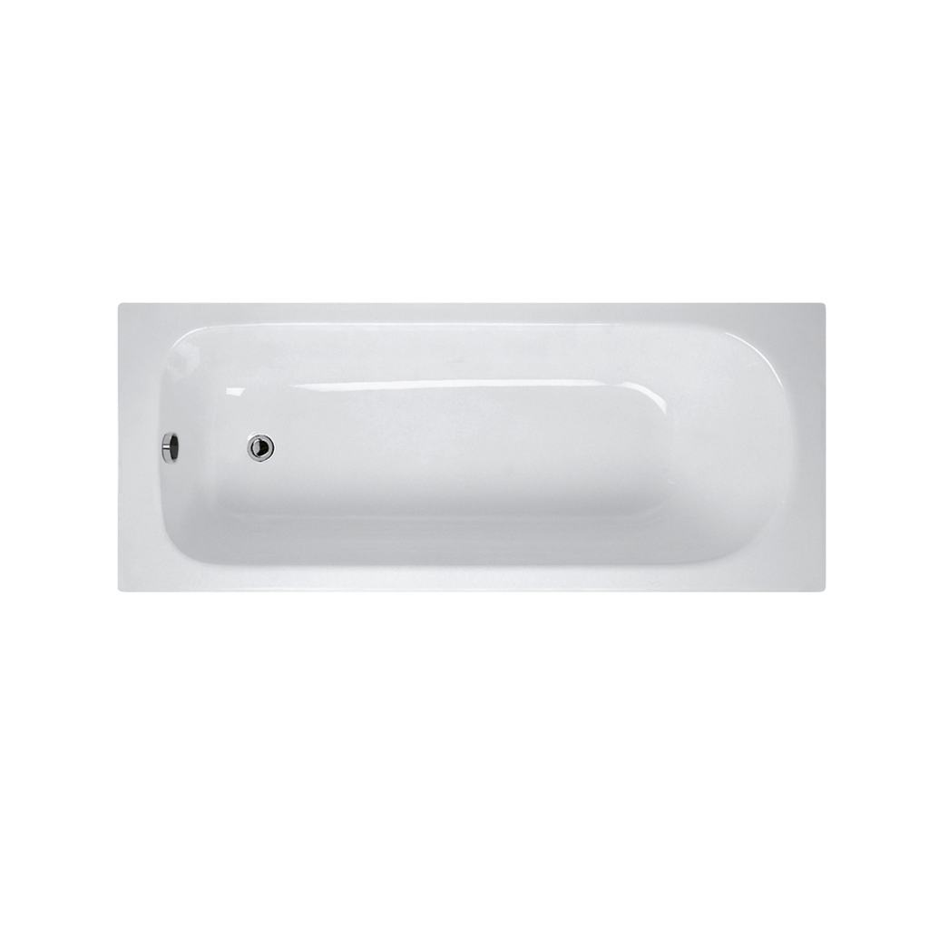 150x70cm Idealform Plus+ Rectangular Bath, no tapholes