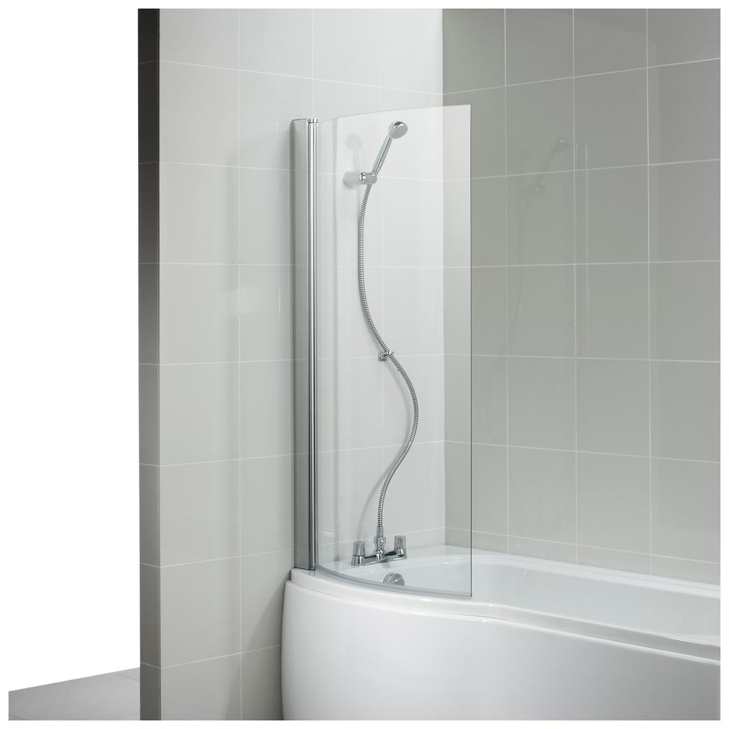 170cm Shower Bath no Tapholes