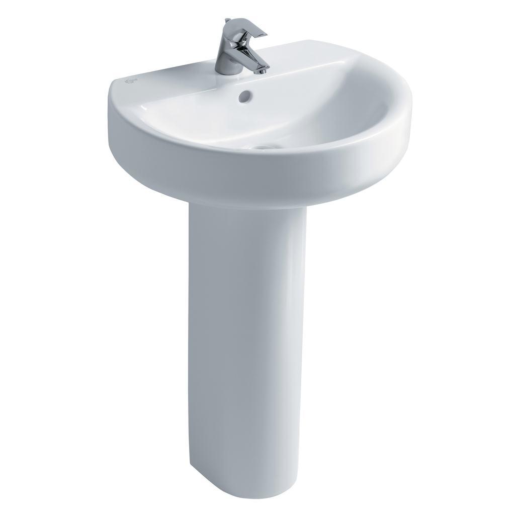 Sphere 55cm Washbasin, 1 taphole