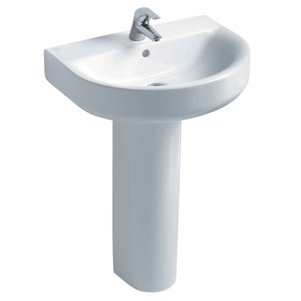 Arc 60cm Washbasin, 1 taphole