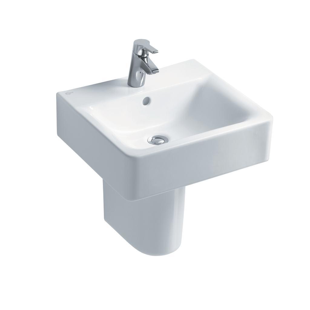 Cube 50cm Washbasin, 1 taphole