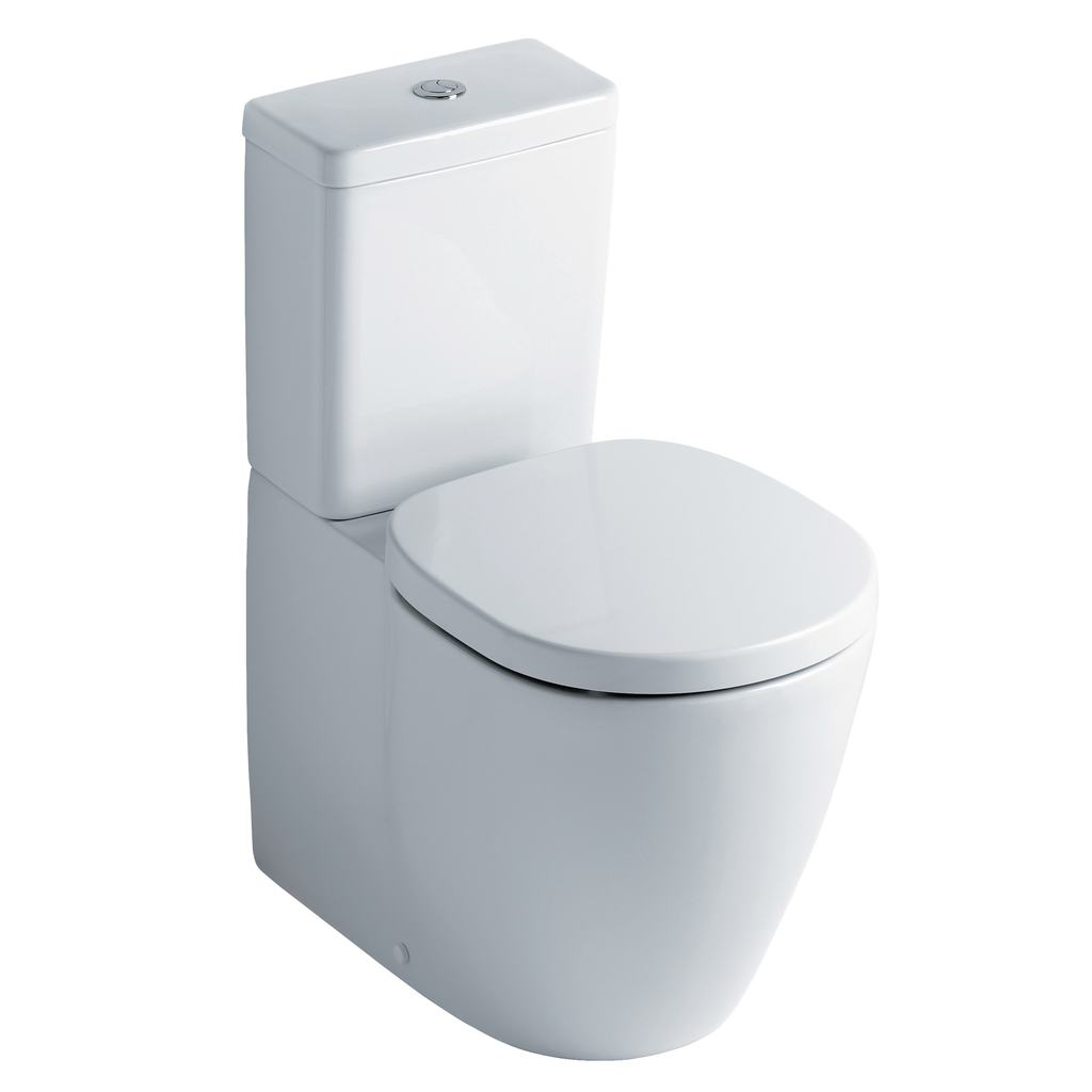 Close Coupled Back-to-Wall WC Pan