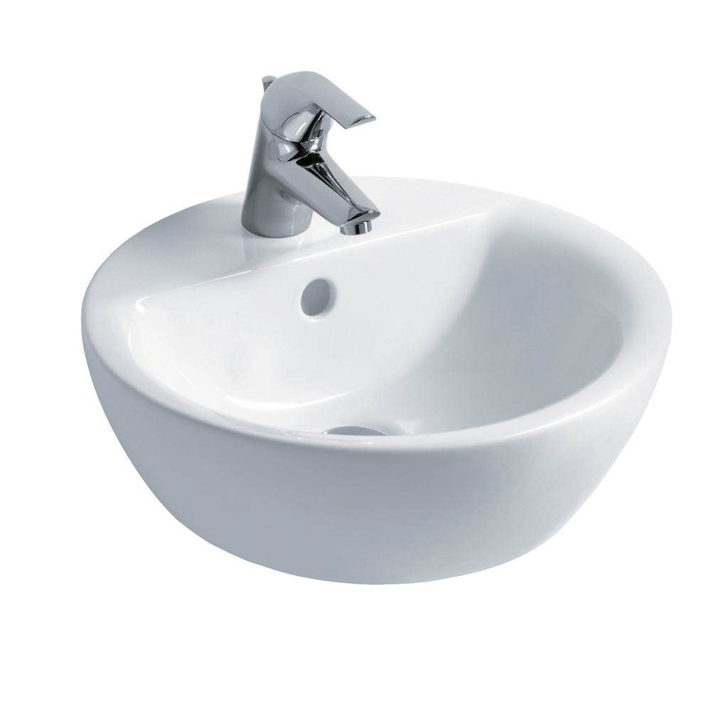 Sphere 43cm Vessel Washbasin, 1 taphole