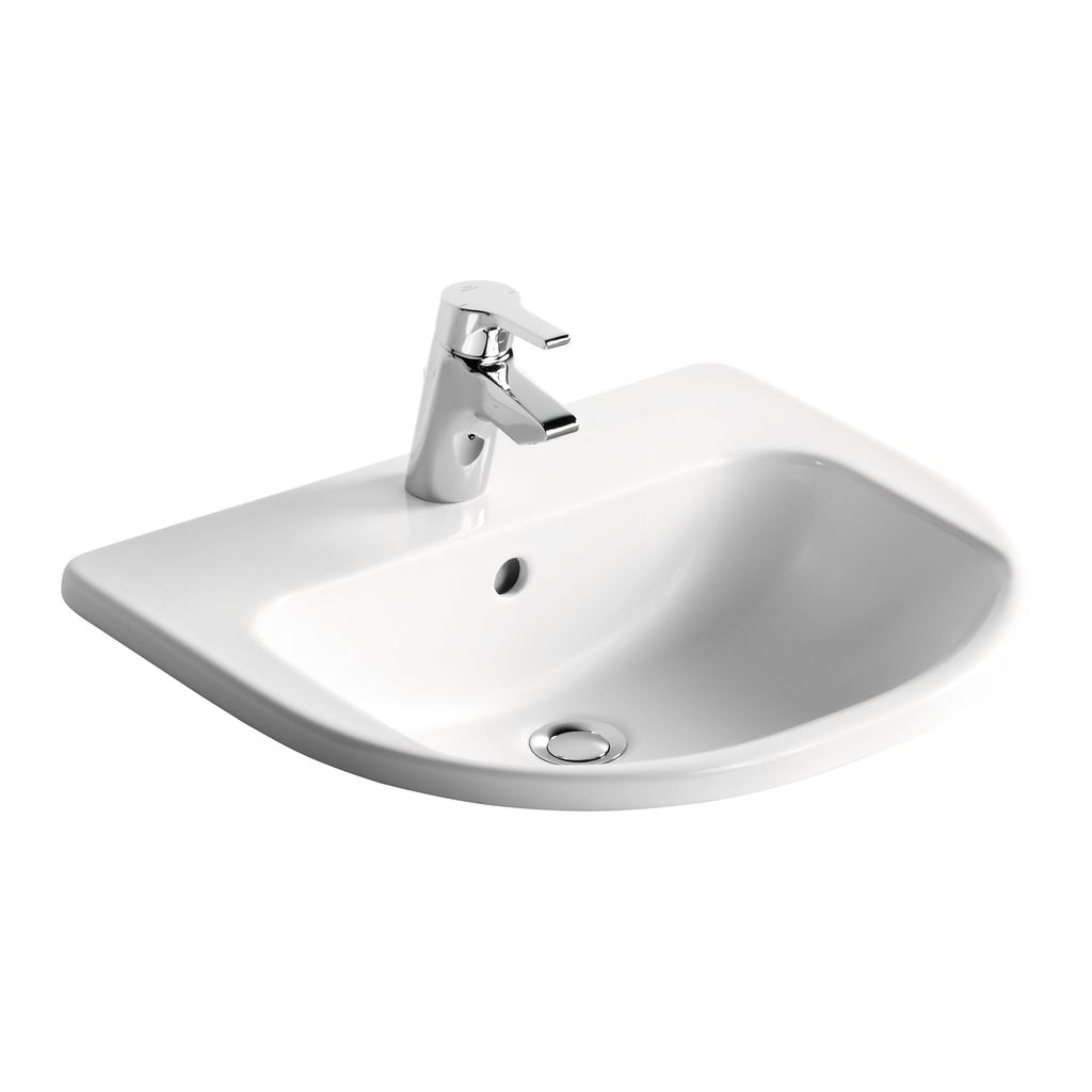 55cm Countertop Washbasin, 1 taphole