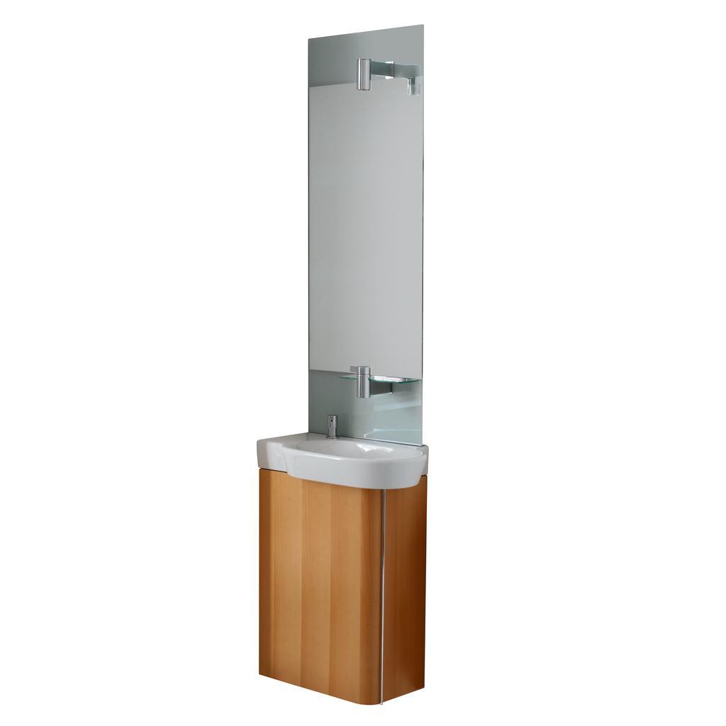 60cm Washbasin, left hand
