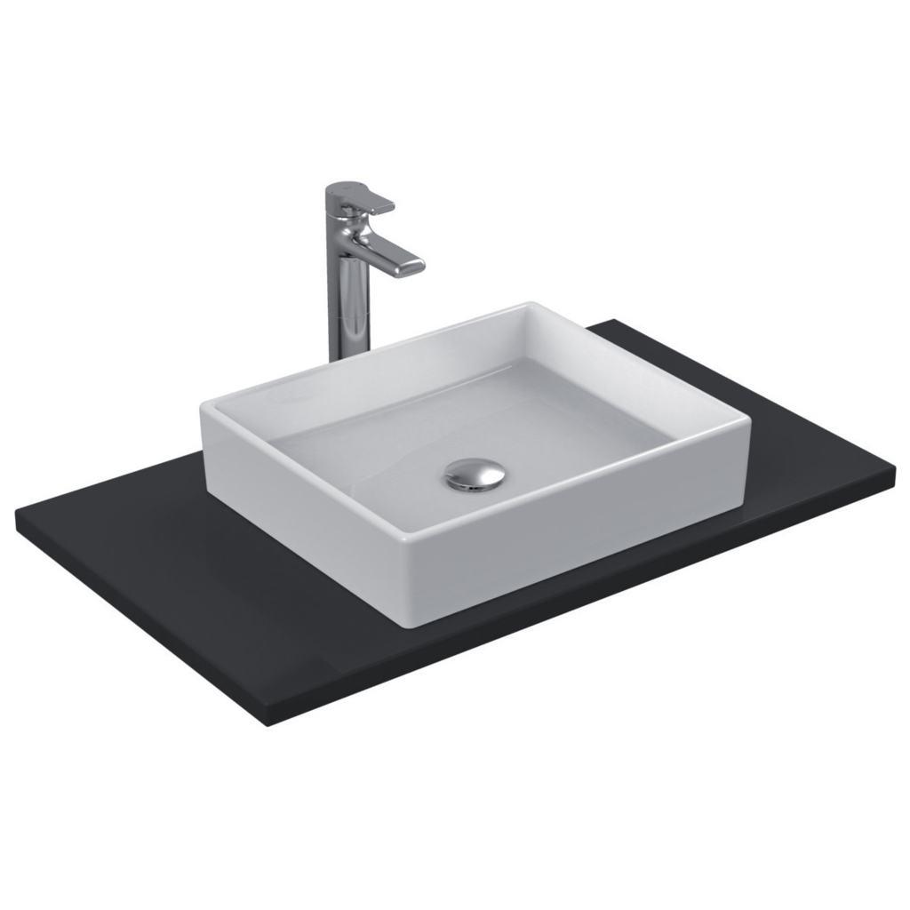dettagli del prodotto k0776 lavabo da appoggio 50x42 cm ideal standard. Black Bedroom Furniture Sets. Home Design Ideas