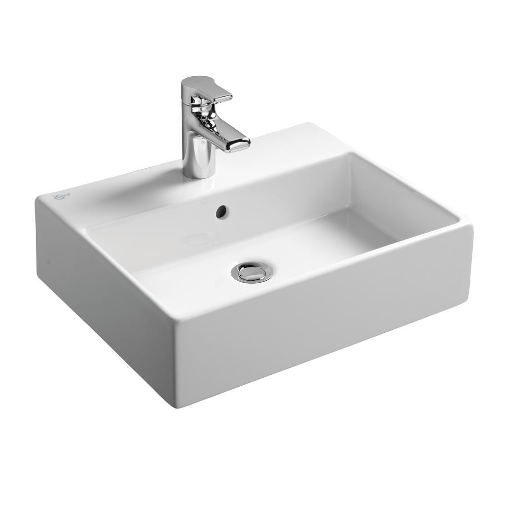 50cm Countertop Washbasin, 1 taphole