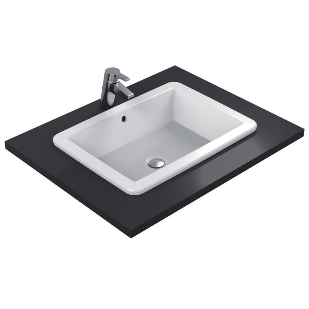 Dettagli del prodotto k0780 lavabo da incasso 60x44 cm ideal standard - Lavabi bagno ideal standard ...