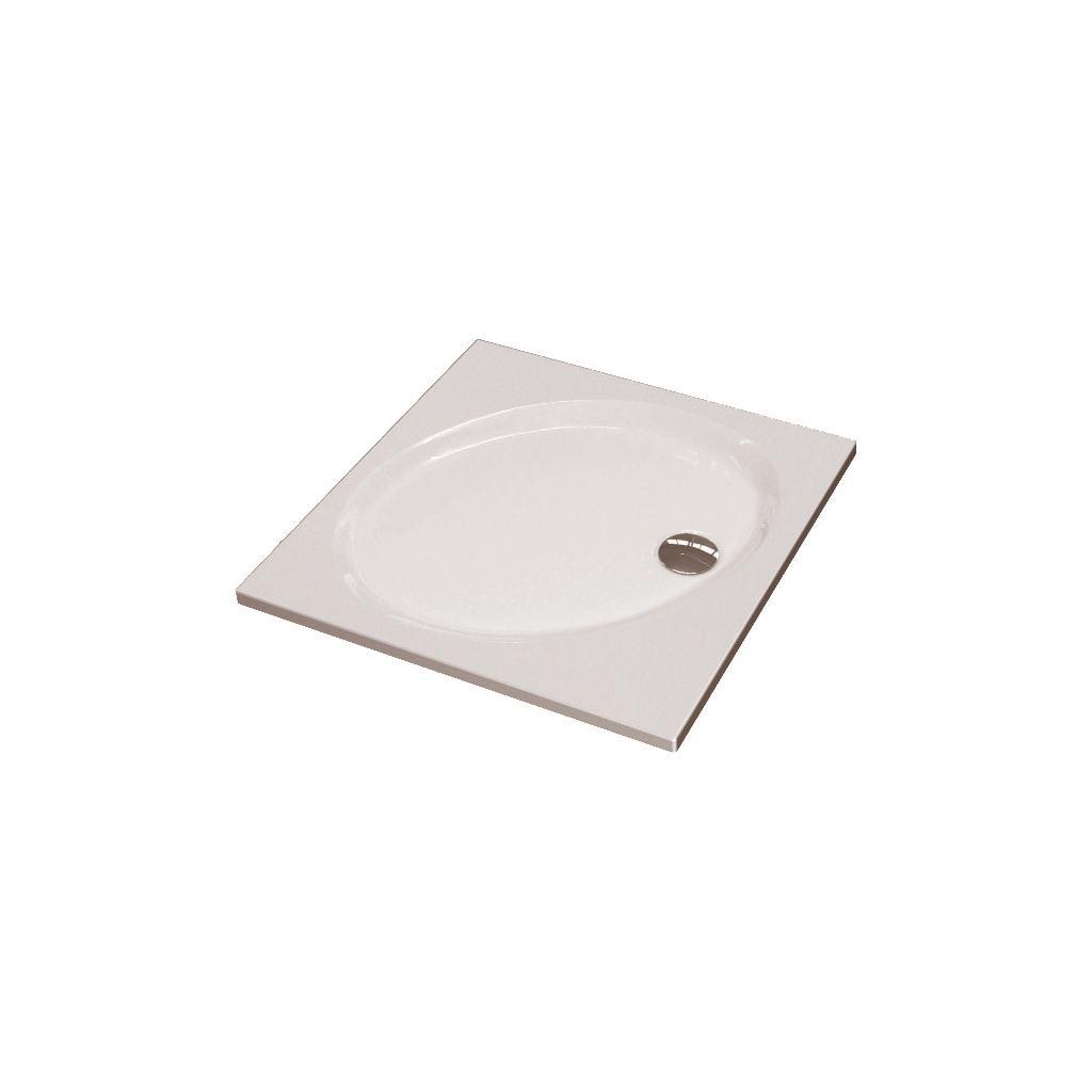 Слив для поддонов Connect/Strada, для Ø 90 мм, с плоской хромированной крышкой