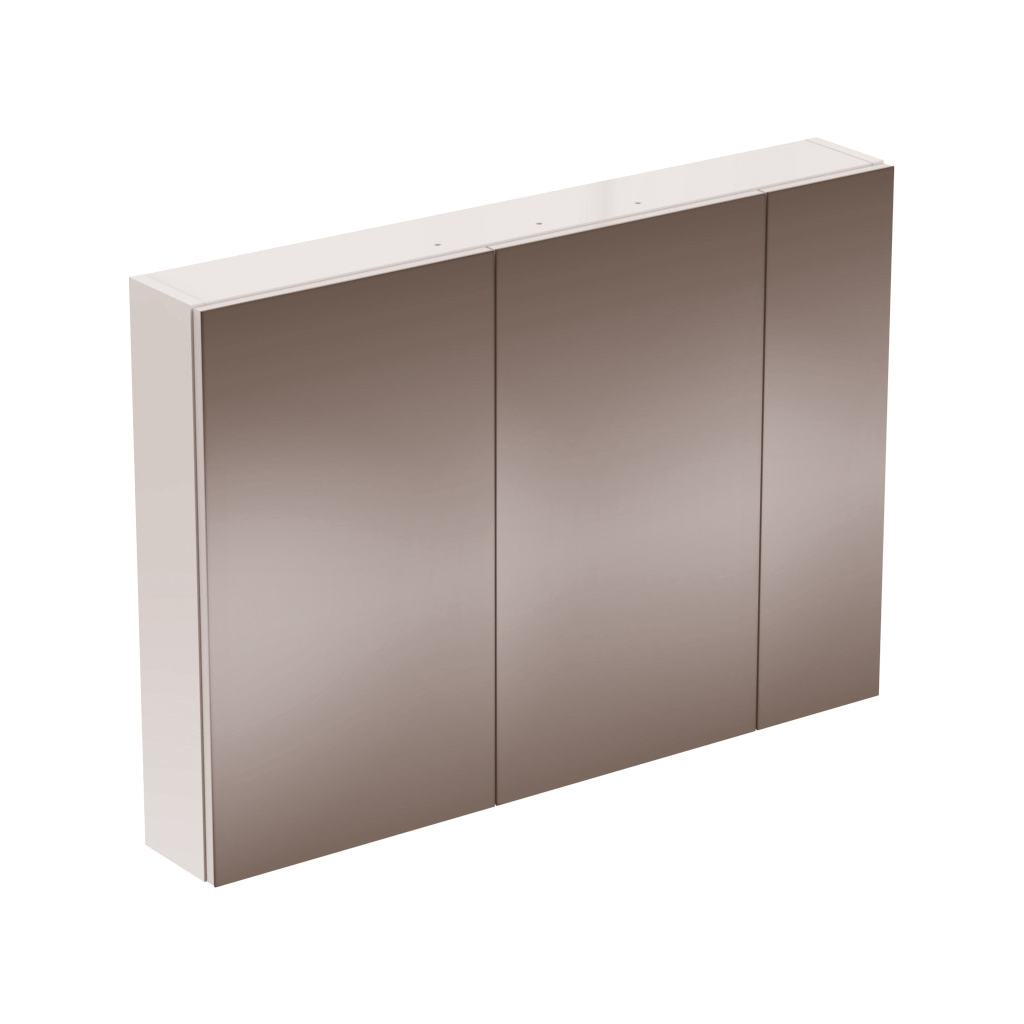 STRADA Зеркальный шкаф с 3 дверцами 100 см