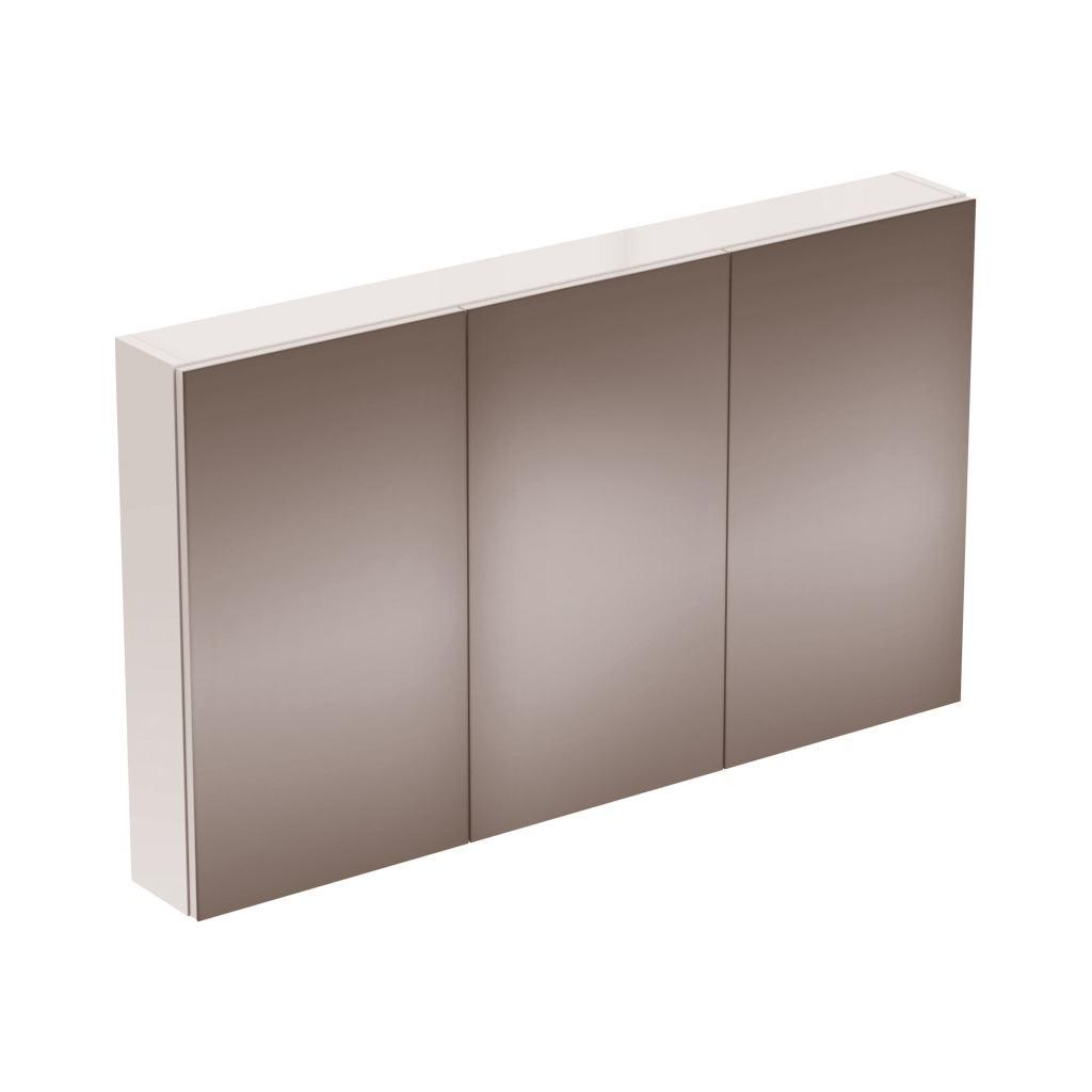 STRADA Зеркальный шкаф с 3 дверцами 120 см