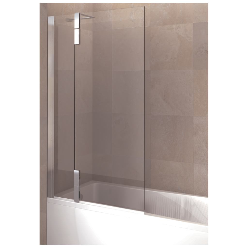 Hinged Bath Screen, Right Hand