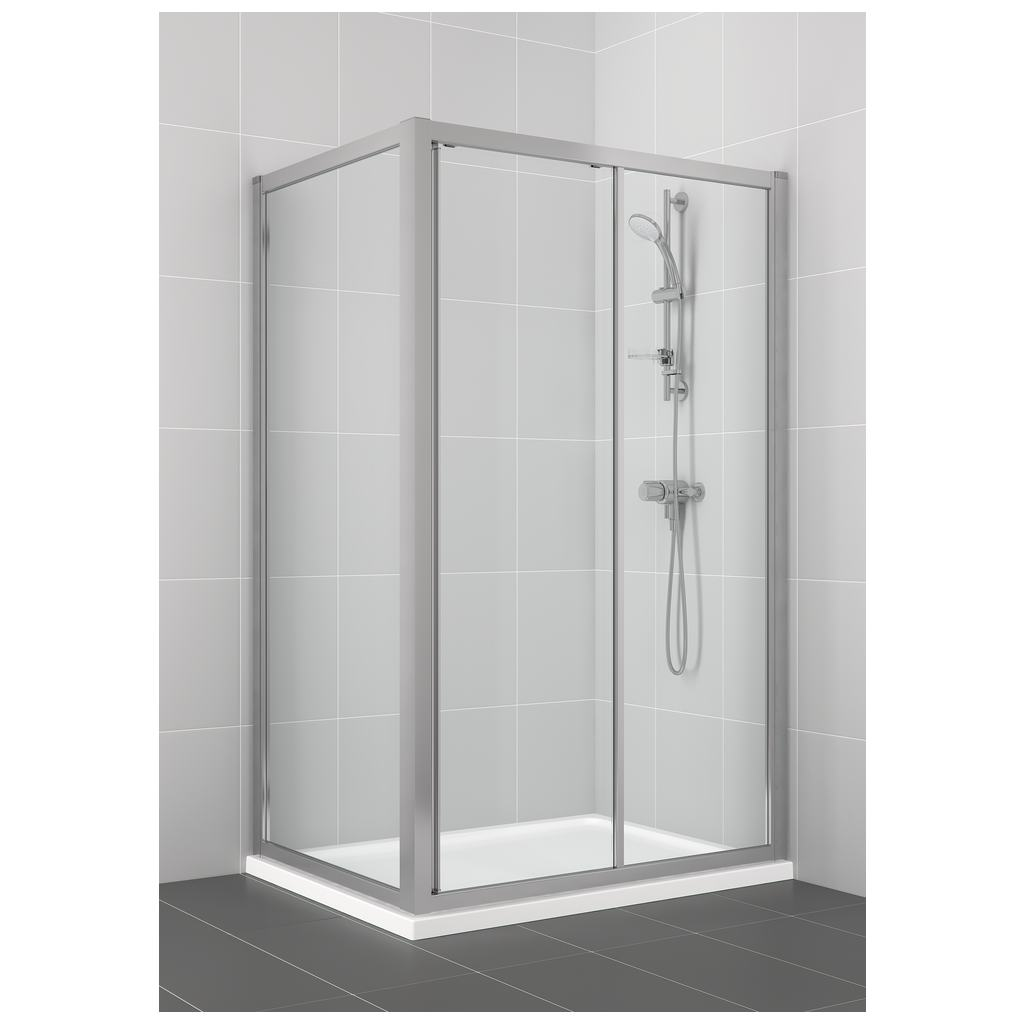 1200mm Slider Shower Door