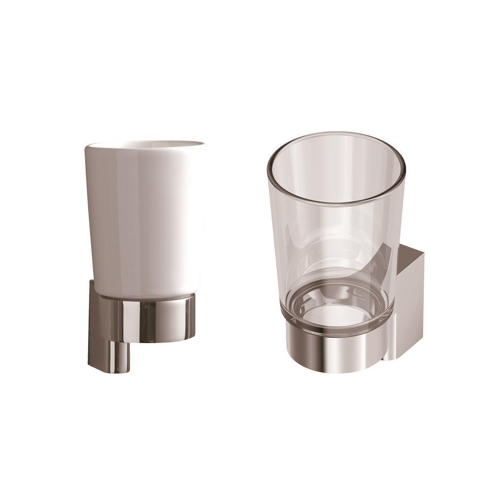 CONNECT стакан с держателем, керамика
