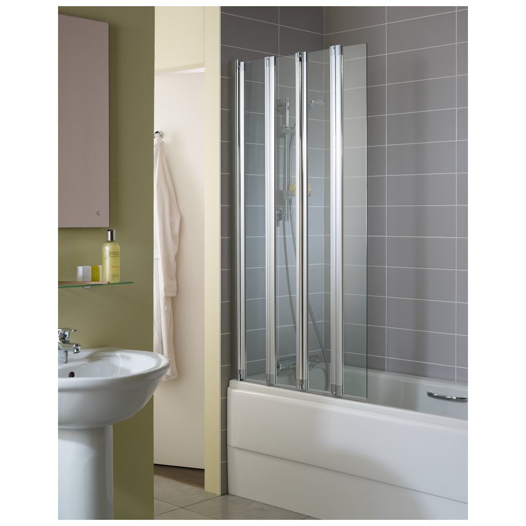 product details t9925 4 panel folding screen ideal standard rh ideal standard co uk