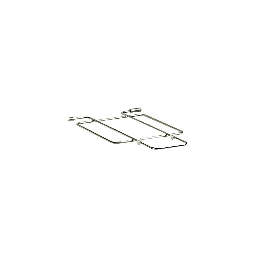Металлическая съемная хромированная решетка для мойки BRENTA
