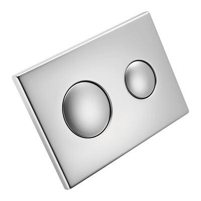 Flush Plate - Chrome