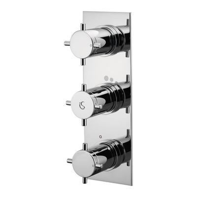 Thermostatic Built-in 2 Outlet Showers Mixer