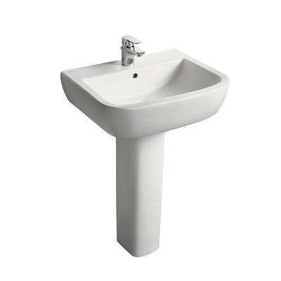 60cm Washbasin, 1 taphole