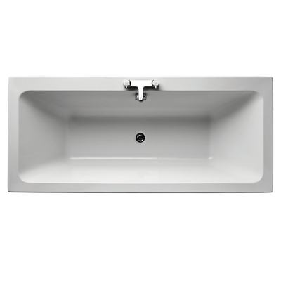 Cube 170x75cm Idealform Plus+ Double Ended Bath