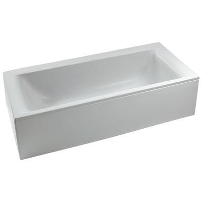 CONNECT DUO Прямоугольная ванна 170X75 см, с ножками (рамой), для установки с панелями