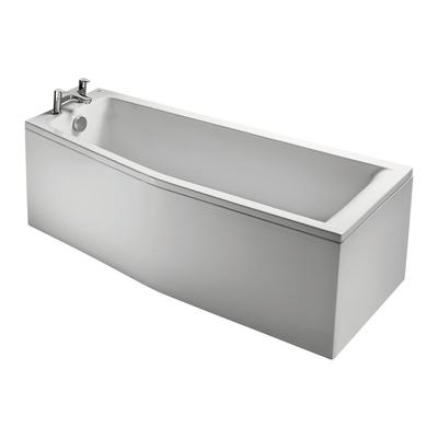 170cm Space Saver Bath, Left hand
