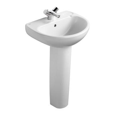 50cm Washbasin, 1 taphole