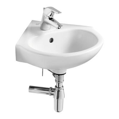 45cm Corner Washbasin, 1 taphole